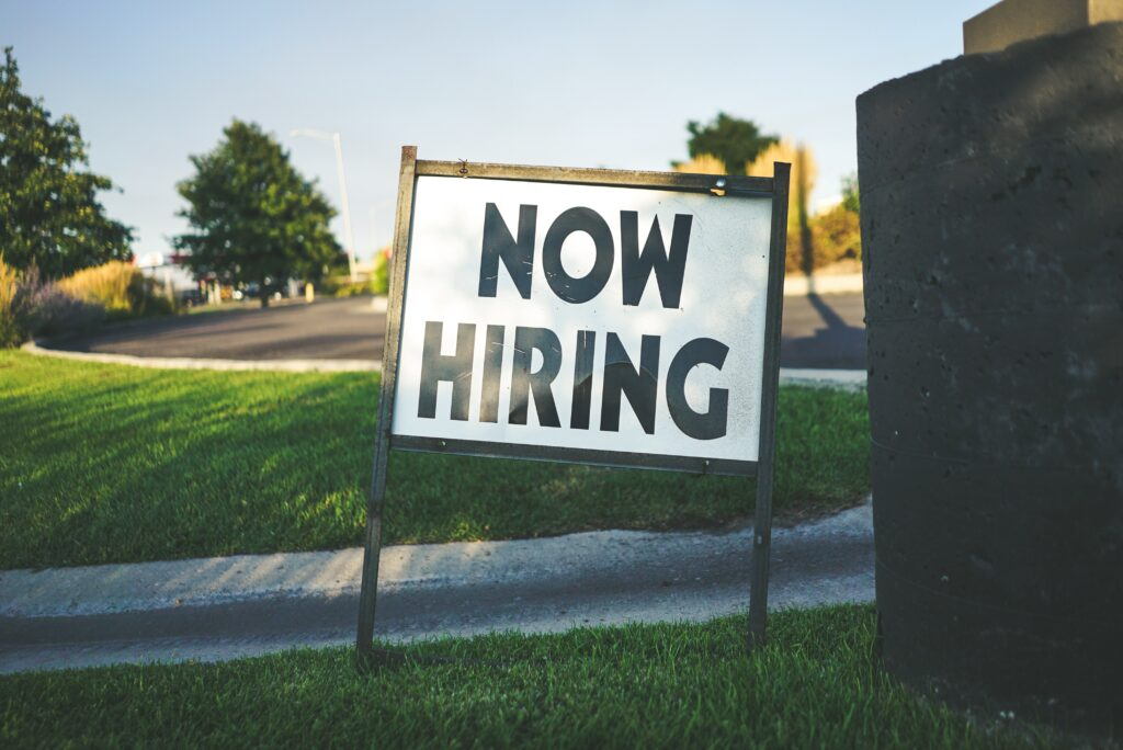 With the low-point now seemingly over, job markets looking to bounce back