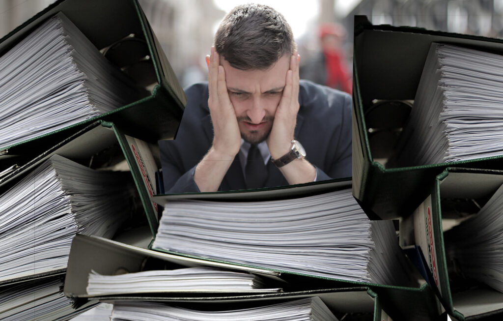 How do recruiters eliminate as many administrative duties as possible?