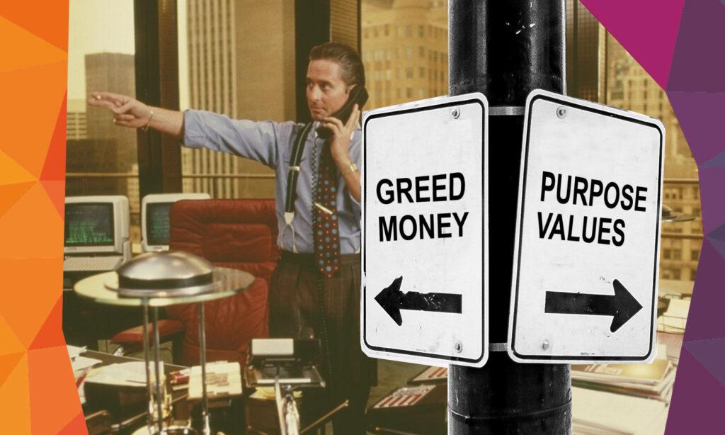 Why Wall Street should start focusing on purpose rather than 'Gordon Gekko-like greed'